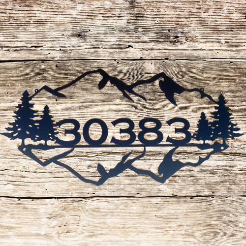 Mountain Majesty Personalized Sign (K1)