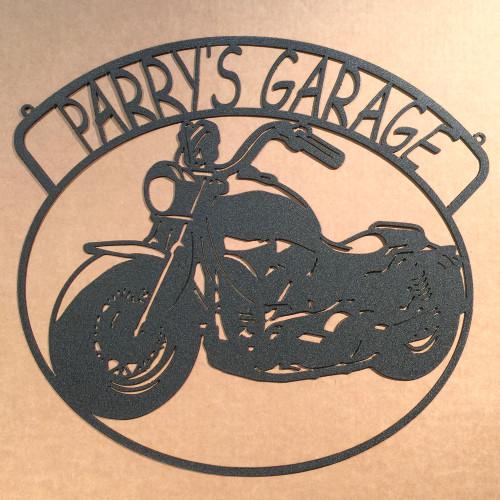 Custom Motorcycle Sign (S8)