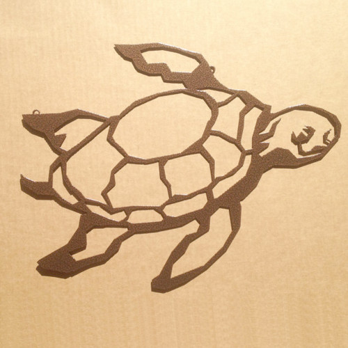 Turtle Metal Wall Art (J4)