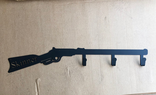 Custom Metal Gun Coat Rack (O5)