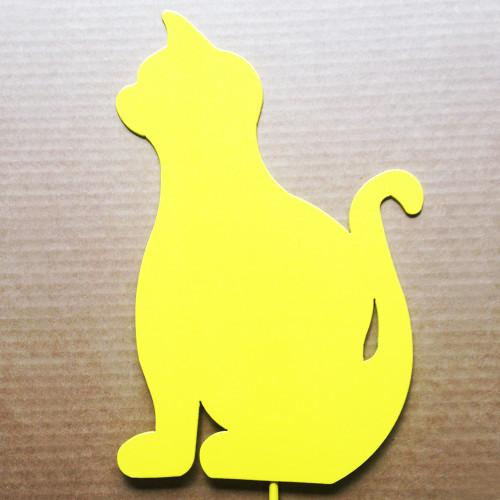 Metal Garden Stake Cat (A7)