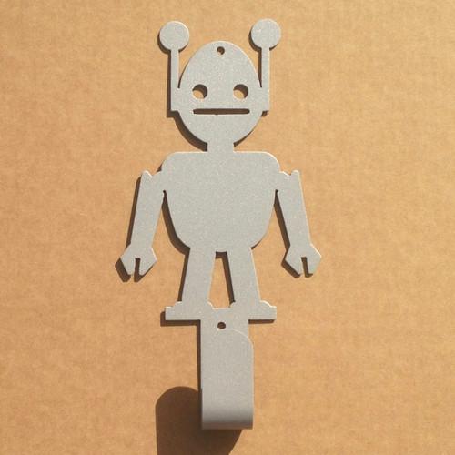 Hat Rack Coat Rack Metal Hat Coat Rack with a Robot (G24)