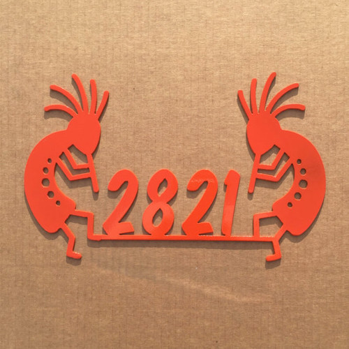 Kokopelli Address Sign