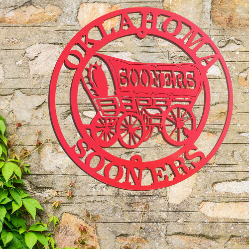 Official Sooner Schooner Wall Art (B43)