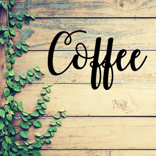 Coffee is My Jam Metal Wall Art (C36)
