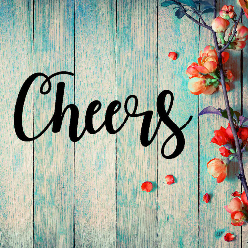 Cheers! Metal Wall Art (C37)