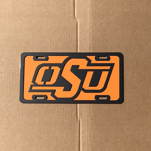 Oklahoma State License Plate (C49)