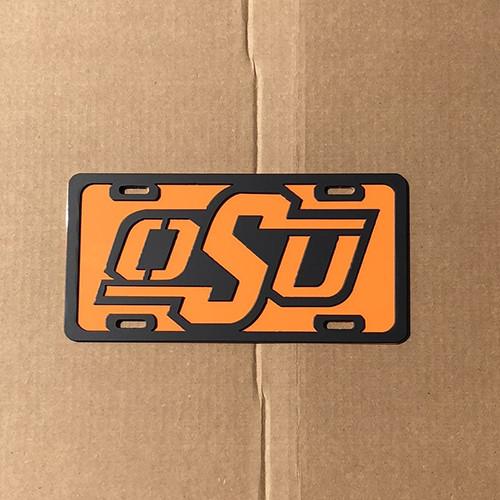 Oklahoma State License Plate (C49)
