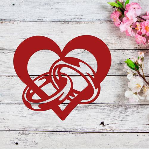 Wedding / Anniversary Heart (D43)