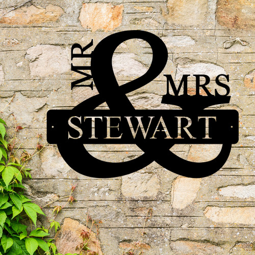 MR and MRS Monogram (D47)