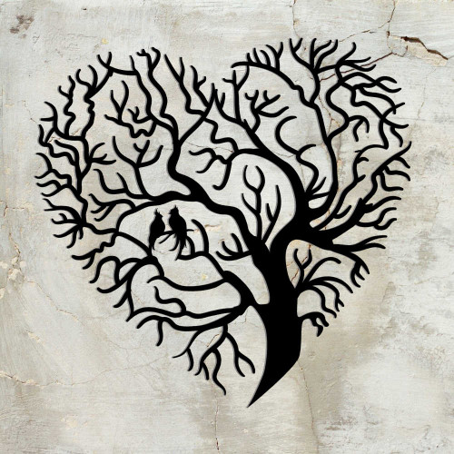 Tree of Life Heart ( E47 )