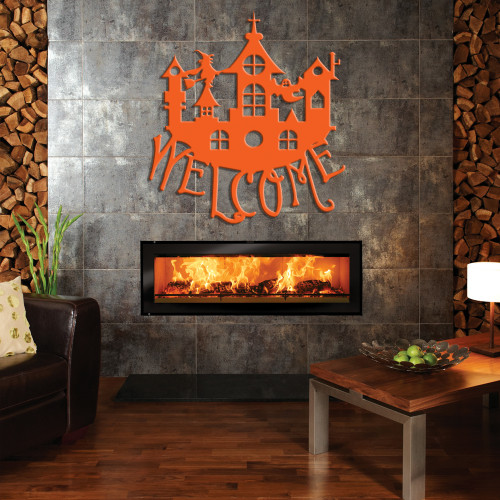 Halloween Castle Welcome Sign (G39)