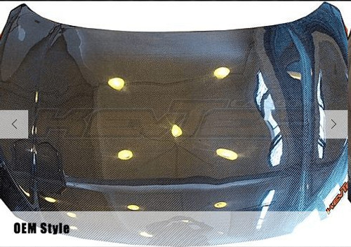Kevmannz KevTEC Carbon Fiber Hoods - style 1