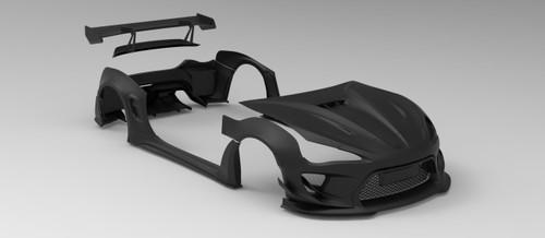 ROBOT CRAFTSMAN Carbon Fiber Widebody Kit For Toyota 86 Subaru BRZ Scion FR-S