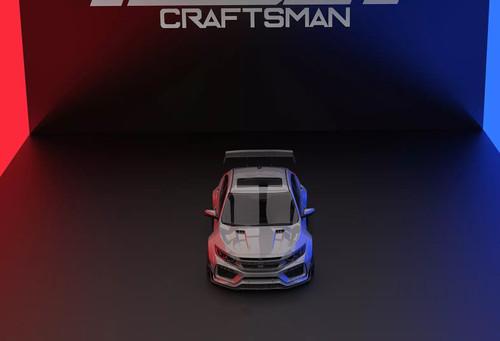 ROBOT CRAFTSMAN Carbon Fiber Widebody Kit For Honda Civic 10th Gen