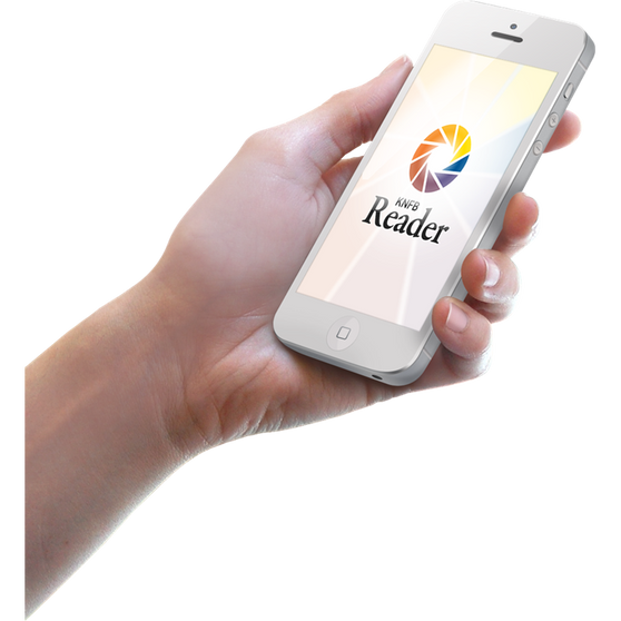 KNFB Reader voor iOS, Android en Windows 10