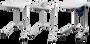 Reinecker onderstel voor beeldschermloep
