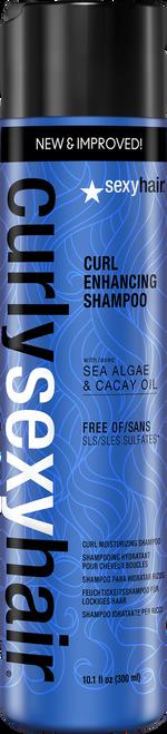 Curly Sexy Hair Curl Enhancing Shampoo 10.1oz