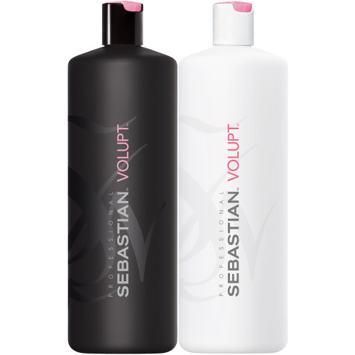 sebastian volupt shampoo and conditioner liter duo