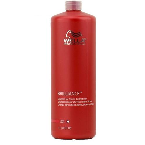 Wella Brilliance Shampoo (Thick/Coarse) 33.8oz