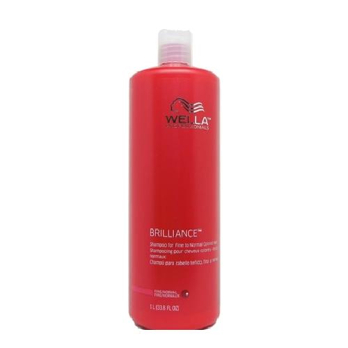 Wella Brilliance Shampoo (Fine/Normal) 33.8oz
