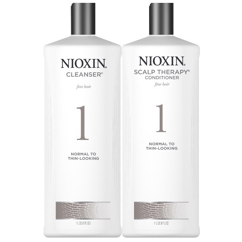 Nioxin Cleanser and Scalp Therapy Ltr Duo