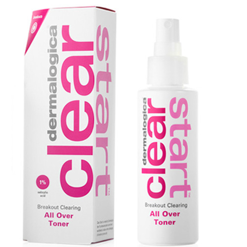 dermalogica clear start all over toner 4 oz