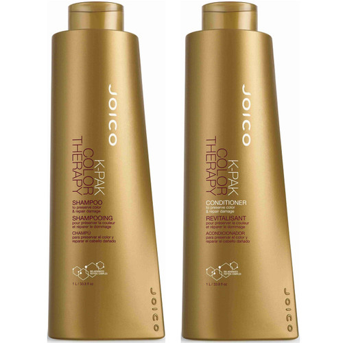 Joico K-Pak Color Therapy Shampoo and Conditioner Duo
