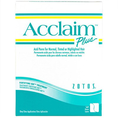 acclaim plus acid perm for normal to tinted or highlighted hair