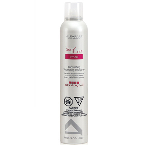 alfaparf milano semi di lino styling illuminating volumizing hairspray extra strong hold