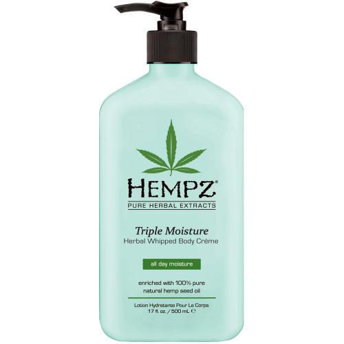 hempz triple moisture herbal whipped body crème 17 oz
