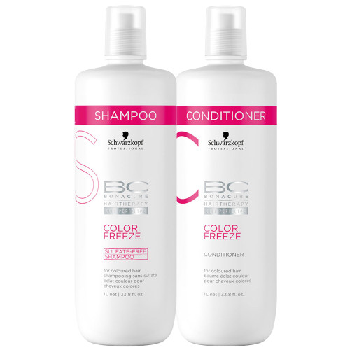 Schwarzkopf Bonacure Color Freeze Sulfate Free Shampoo And Conditioner Duo