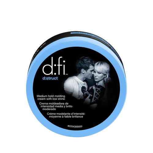 d:fi d:struct medium hold molding creme with low shine 5 oz