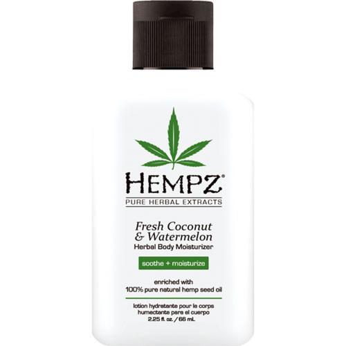 hempz fresh coconut & watermelon herbal body moisturizer 2 oz
