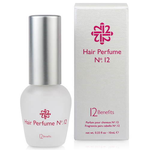 12 benefits hair perfume No. 12