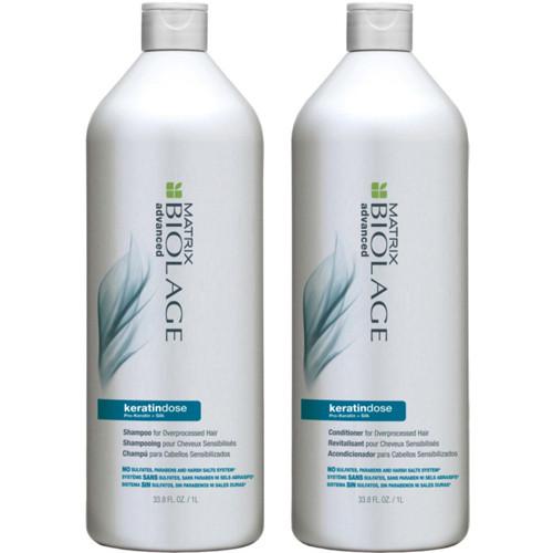 Matrix Biolage KeratinDose Shampoo and Conditioner Duo