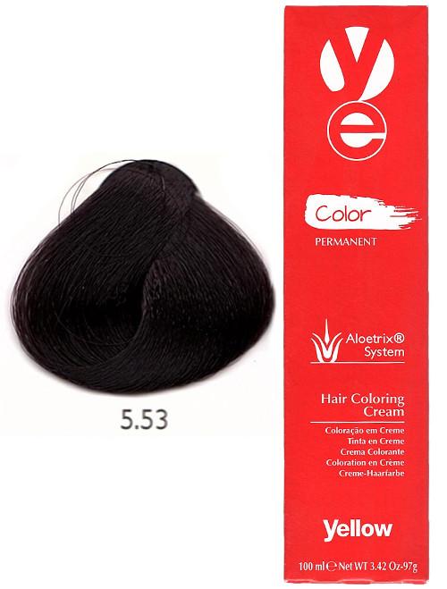 Alfaparf Yellow Hair Color Light Mahogany Golden Brown