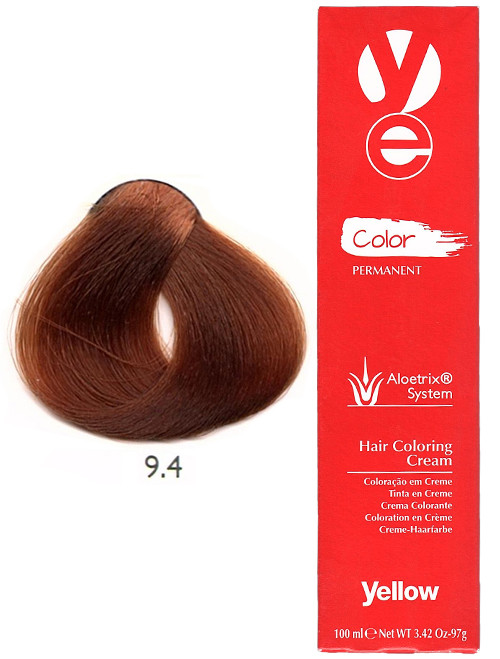 Alfaparf Yellow Hair Color Very Light Copper Blonde