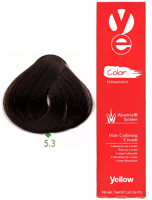 Alfaparf Yellow Hair Color Light Golden Brown