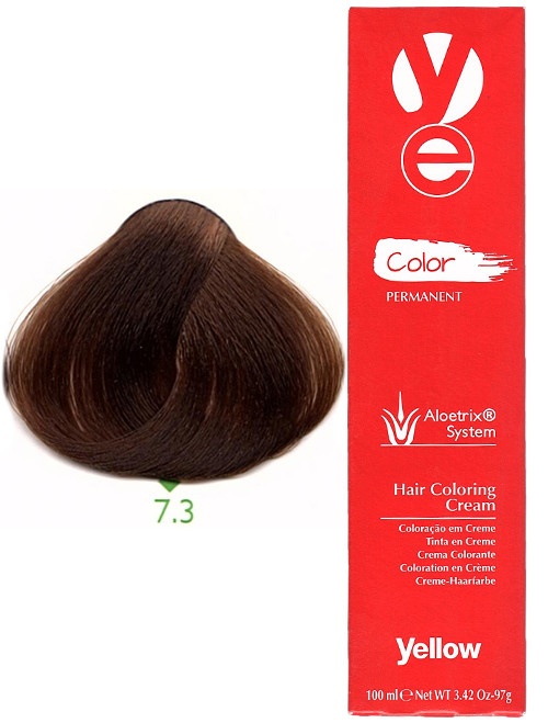 Alfaparf Yellow Hair Color Golden Blonde 7.3