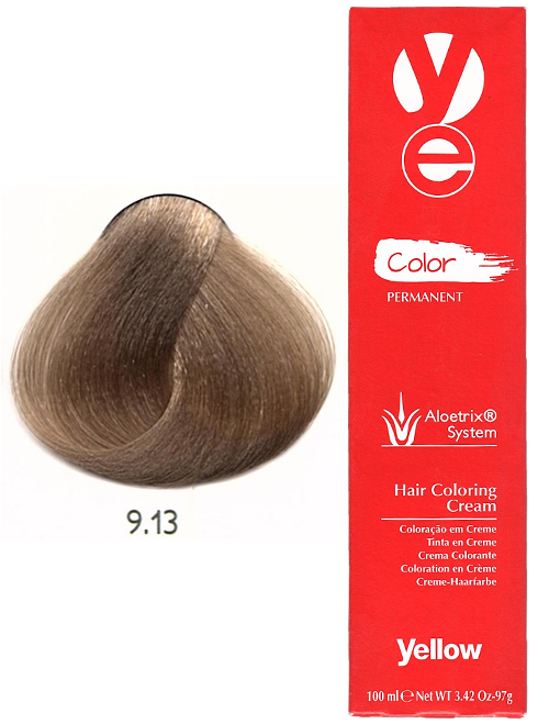 Alfaparf Yellow Hair Color Very Light Ash Golden Blonde