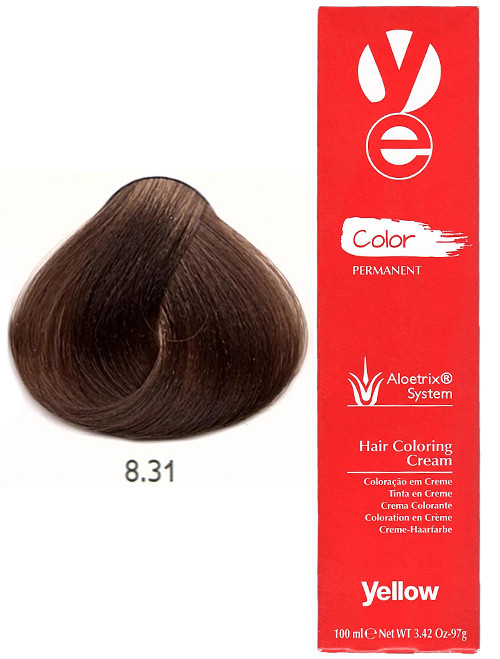 Alfaparf Yellow Hair Color Light Golden Ash Blonde