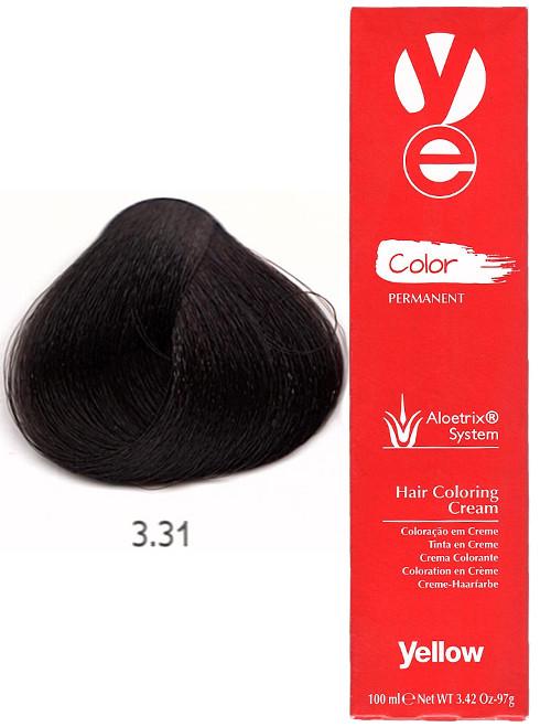 Alfaparf Yellow Hair Color Dark Golden Ash Brown