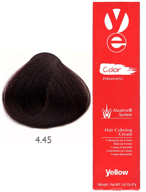 Alfaparf Yellow Hair Color Copper Mahogany Brown
