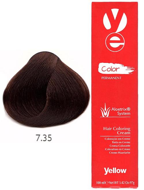 Alfaparf Yellow Hair Color Golden Mahogany Blonde
