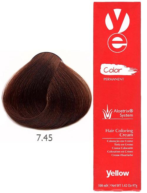 Alfaparf Yellow Hair Color Copper Mahogany Blonde