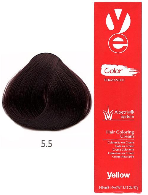 Alfaparf Yellow Hair Color Light Mahogany Brown