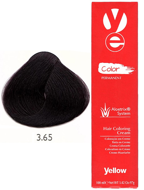 Alfaparf Yellow Hair Color Dark Red Mahogany Brown