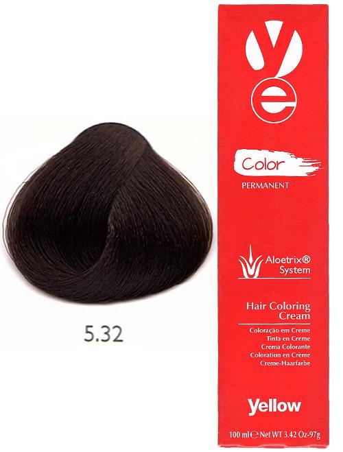 Alfaparf Yellow Hair Color Light Golden Violet Brown