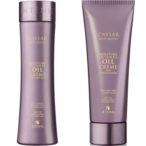 Alterna Moisture Intense Oil Creme Shampoo And Deep Conditioner Duo